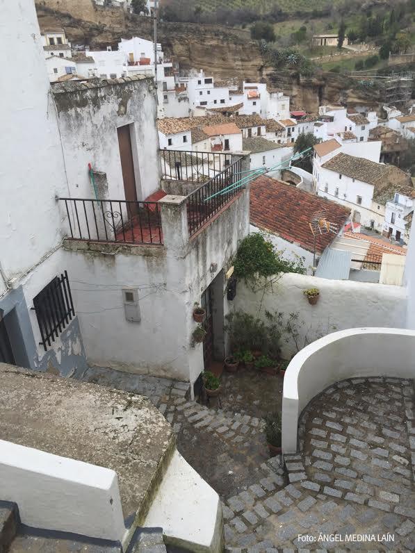 Imagen de la calle Vilches tomada este lunes 19 de enero. Foto: ÁNGEL MEDINA LAÍN