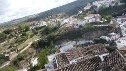 Imagen desde el Torreón del Carmen y la calle Jabonerías, una de las mejor conservadas del pueblo. Foto. ÁNGEL MEDINA LAÍN