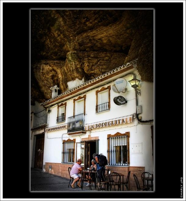 Imagen de La Bodeguita en las Cuevas del Sol. Foto: CARLOS JOSÉ PÉREZ. Más fotos suyas en este enlace http://goo.gl/mhd0OE