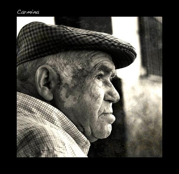 Retrato de José Lobato. Mayo de 2008. Foto: CARMINA VANDELLÓS. Más imágenes en este enlace http://bit.ly/1vDm94W