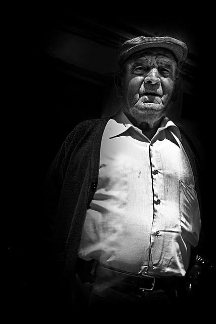 José Gutiérrez González, en un excepcional retrato realizado en mayo de 2009. Foto: SASEKI. Más imágenes en http://goo.gl/bJPWZU