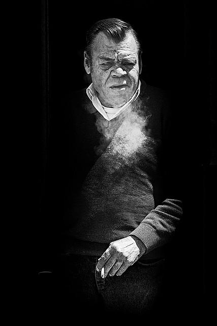 """Diego Lebrón """"El Palilo"""", en un impresionante retrato realizado en mayo de 2009. Foto: SASEKI. Más imágenes suyas en este enlace http://goo.gl/bJPWZU"""