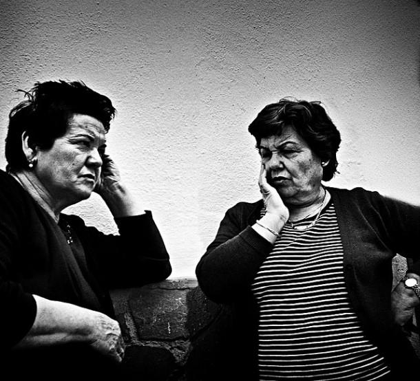 Antonia Álvarez y Francisca Luque. Mayo de 2009. Foto: SASEKI. Más imágenes en http://goo.gl/bJPWZU