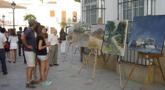 Olvera, Pruna y Ubrique han organizado (entre junio y septiembre de 2013) concursos de pintura al aire libre que han sido un éxito.