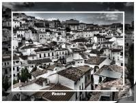 Setenil, marco incomparable. Imagen tomada en mayo de 2005 por Tanito Setenil, nombre con el que firma el nieto de Teresita Ortiz, gaditano que vive en Cataluña.
