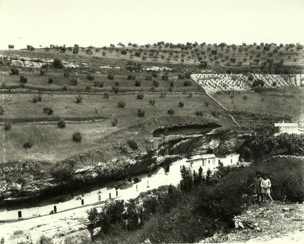 Las Cabrerizas y Los Cortinales, posiblemente en los años '20 del siglo pasado. Foto: MIGUEL MARTÍN