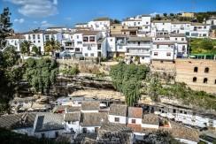 La superposición de las calles de El Cerrillo y las Cuevas del Sol. Foto: MANUEL FIJO. Más imágenes en en su web http://goo.gl/MjVRNv