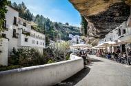 Las Cuevas del Sol, una de las calles más animadas de Andalucía. Foto: MANUEL FIJO. Más imágenes en en su web http://goo.gl/MjVRNv