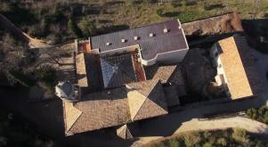 Vista cenital del convento de Caño Santo.