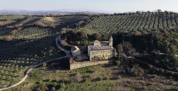 Espectacular imagen de Caño Santo, propiedad de Alcalá del Valle.