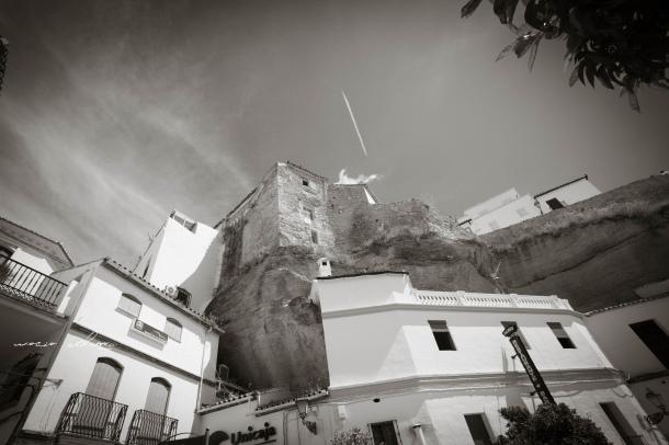 El Lizón, visto desde La Plaza, con el Torreón escondido. El Bar Palmero está construido en los mismos cimientos de la poderosa fortaleza. Foto: ROCÍO ALHAMAhttps://flic.kr/p/fjKsDR