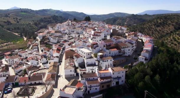 Imagen aérea de Tore Alháquime.