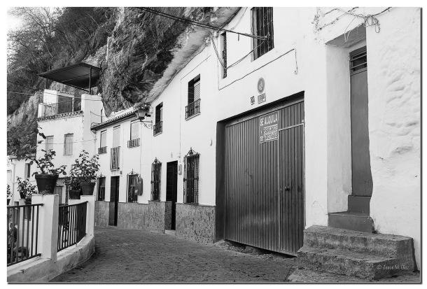 La calle-cueva Cantarería Alta. Foto: JESÚS M. GLEZ. Octubre de 2014