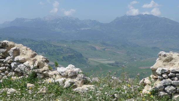 Grazalema, visto desde Ronda la Vieja. Foto: IMAGINA SETENIL
