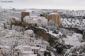 Setenil nevado, un vídeo y fotos para laHistoria