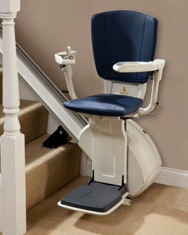 La silla utilizada hasta ahora por Miguel Ruiz, similar a la de la foto, está disponible para cualquier persona que la necesite.