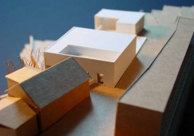 Detalle del proyecto de teatro del taller de arquitectos Donaire.
