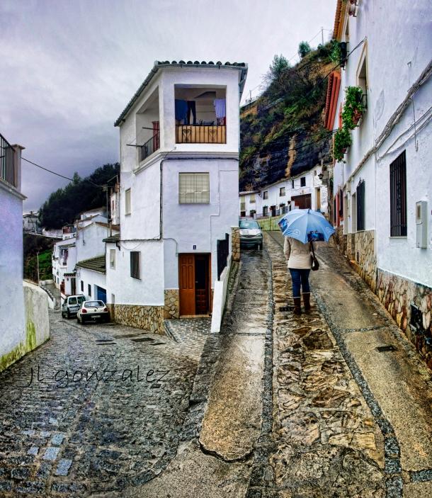 Preciosa imagen de un día de lluvia en La Cantarería. Foto:JOSÉ LUIS GONZÁLEZ RODRÍGUEZ https://flic.kr/p/k9sizk