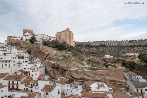 Imagen de la fortaleza de Setenil. Foto: ÁNGEL MEDINA LAÍN
