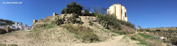 Vista panorámica actual de Los Cortinales. Foto: ÁNGEL MEDINA LAÍN.
