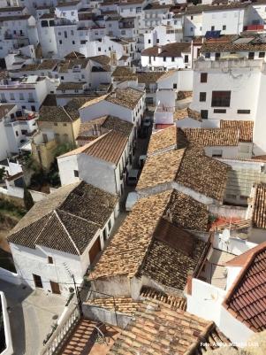 La calle Vega vista desde la alcazaba. Foto: ÁNGEL MEDINA LAÍN.
