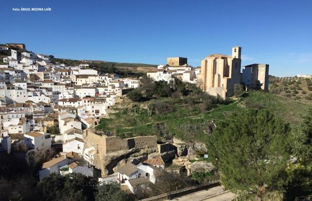 """Detalle de la alcazaba de Seteni, recuperada dentro del proyecto """"Cádiz Origen de las Culturas"""", dirigido por el arquitecto Fernando Visedo, que también es el responsable de la restauración de la Iglesia de la Villa y del Torreón."""