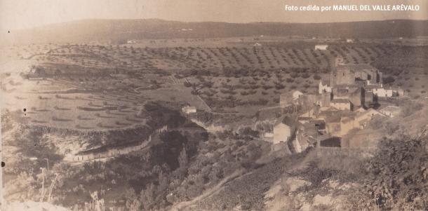 Panorámica de la Villa y Las Cabrerizas. Foto cedida por MANUEL DEL VALLE ARÉVALO.