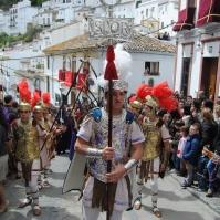 """Con Padre Jesús procesionan """"los romanos"""". Foto: ÁNGEL MEDINA LAÍN"""