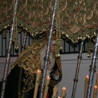 La Virgen de los Dolores vuelve a procesionar el Viernes Santo. Foto: ÁNGEL MEDINA LAÍN
