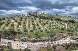 Espectacular foto de Las Cabrerizas, embutida bajo el olivar del Cerro. 27 de Febrero de 2017. Foto. EMILIO JOSÉ RÍOS. https://flic.kr/p/SD5XmU