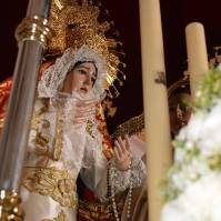 Palio de la Virgen en el Viernes Santo. Foto: MARÍA GUZMÁN JIMÉNEZ