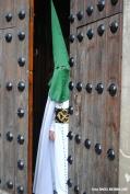 Jueves Santo. Con la procesión del Amarrao se inicia la Semana Santa de Setenil. Foto: ÁNGEL MEDINA LAÍN