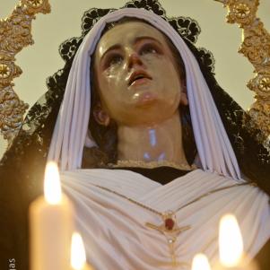 La imagen de La Soledad data de 1969. Foto. MARIO GARCÍA VARGAS