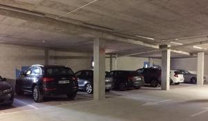 """El parking, abierto de manera """"extraoficial"""" durante la Semana Santa de 2015. Foto: IMAGINA SETENIL."""