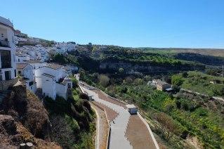 Vista cenital de la terraza del edificio del aparcamiento, uno de los mejores aciertos urbanísticos del proyecto.