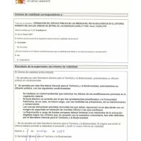 Resumen del proyecto de 2007 de la Confederación Hidrográfica del Guadalquivir.