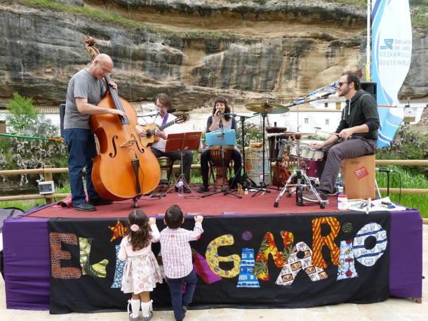 El Imaginario aportó la música en la jornada del sábado. Foto: PEDRO MÚSICAFUTURA (Perfil de Facebook)
