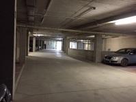 """Imagen del interior del parking, durante su apertura provisional y """"extraoficial"""" en la Semana Santa de 2015. Foto. IMAGINA SETENIL"""