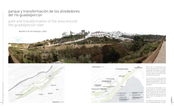 """Proyecto de Martínez Lapeña y Elías Torres publicado en la revista de arquitectura """"PaiseaDos"""". PINCHAD EN LA IMAGEN PARA DESPLEGARLA"""