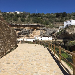 La nueva calle abierta bajo Los Cortinales, continuación de la Calle Mina. Foto. ÁNGEL MEDINA LAÍN