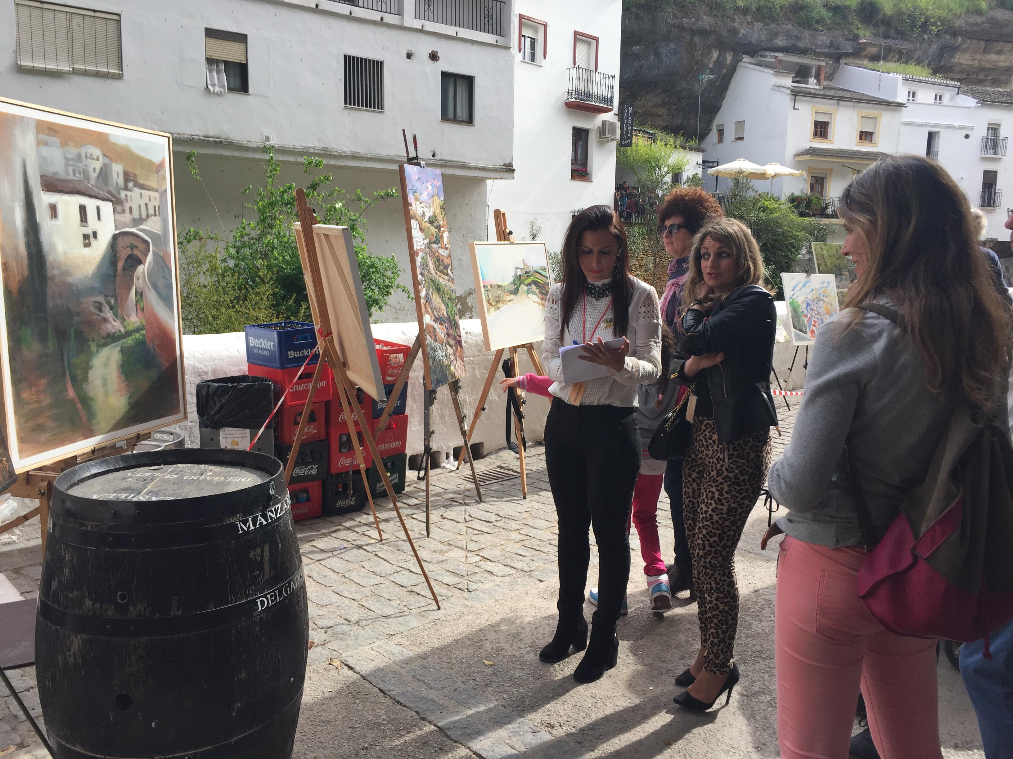 Cuadro Un Luminoso De La El Gana Sol Premio Pintura Cuevas Del 55SrPqwx