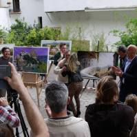 Entrega de los premios del primer Certamen de Pintura Rápida de Setenil.