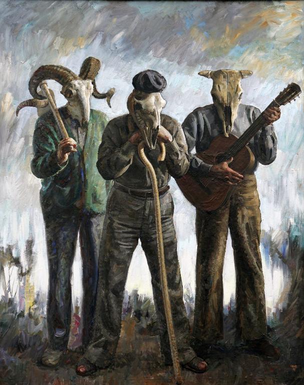 """""""Andaluces de carga"""", una obra que denuncia el trato alos trabajadores del campo andaluz."""