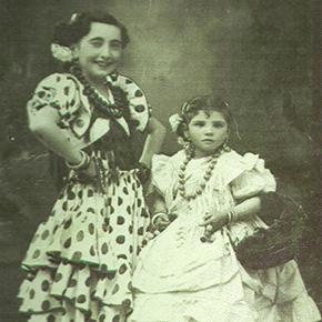 Setenil en la Memoria: La Romería en blanco ynegro