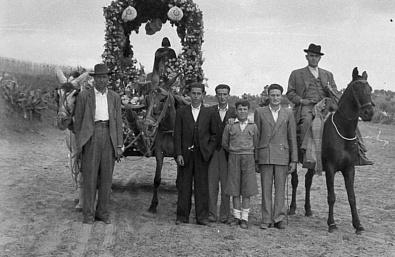 Foto cedida por PEDRÍN MORENO. La imagen es de 1955.