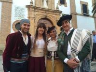 Los alcaldes de Setenil, Grazalema, El Bosque y El Gastor.