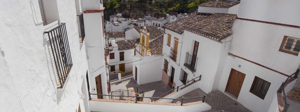 Escaleras y ermita de San Benito. Foto: DIPUTACIÓN DE CÁDIZ