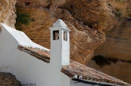 Detalle de una chimenea en una casa-cueva en La Plaza. Foto: JOAQUÍN CAMACHO