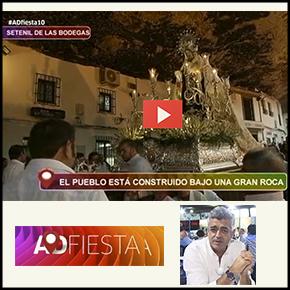 """La Virgen del Carmen de Setenil en """"ADFiesta"""""""
