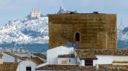El Torreón nazarí de Setenil, hermanado con la vecina Olvera. Foto: TROTONES DE ARCOS.